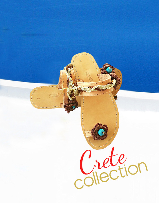 Crete sandals, woman sandals, elegant sandals, leather sandals, shop sandals online, handmade sandals colection Crete