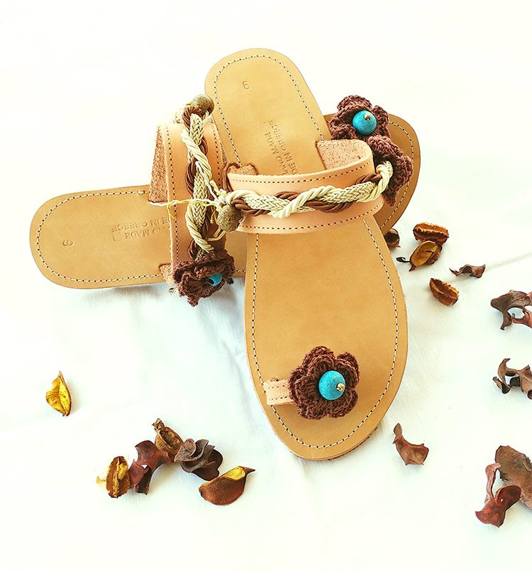 Greek leather sandals, toe-ring sandals, beaded sandals, handmade womens sandals ariadne sandals for Crete sandals, impressive toe ring sandals with beads