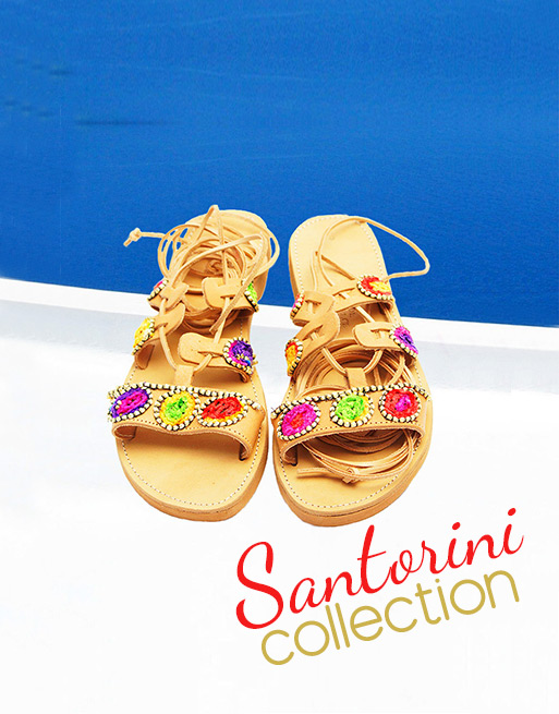 Ancient Greek sandals, handmade sandals, gliadiator, boho sandals, leather sandals, shop online sandals collection Santorini sandals